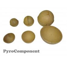 "Paper Nesting shells 2-8"" (Fast making)"