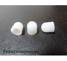 Plastic plugs for firecrackers and reports